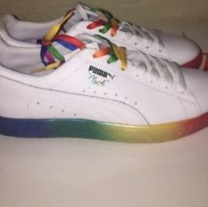 new styles 3ac4b a02bc Puma Clyde Pride
